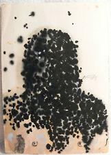 Norbert Fleischer Kunstwerk Unikat Einzelstück Original signiert ca. 15 x 10,6cm