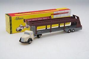Schuco Piccolo / Mercedes-Benz Car Carrier / Auto Transporter / Item # SHU01941