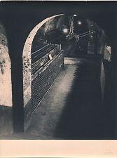 Photographie Cellier cave à vin tirage argentique d'époque, v. 1940