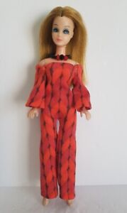 DAWN DOLL CLOTHES Mod JUMPSUIT and NECKLACE - Fashion NO DOLL dolls4emma