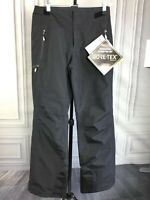 $249 New Spyder Winner Gore-Tex TailorFit Winter Snow Ski Pants Black sz 10 12