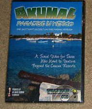 Beyond Cancun Series Akumal Paradise in Mexico on the Mayan Riviera DVD New