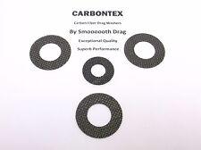 SHIMANO REEL PART Tekota 800 - (4) Smooth Drag Carbontex Drag Washers #SDS2
