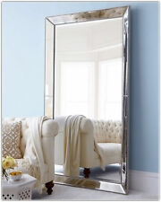 Large Wall Mirror-art Deco-bedroom Metro Dressing Leaning 840mm X 1840mm