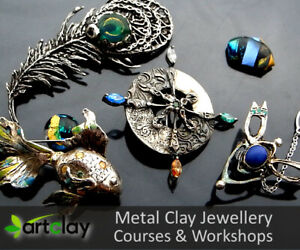Jewellery Making Workshop for Art Clay Silver & PMC3 - 22 July 2020