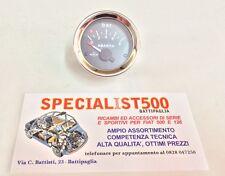 FIAT 500 EPOCA MANOMETRO PRESSIONE OLIO FONDO NERO SCRITTA ABARTH