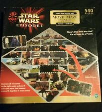 Star wars Episode 1 movie maze puzzle 540 pieces, part 2 of 2 puzzle-New-Sealed