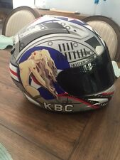 KBC Airborne Edition 2 motorcycle Helmet with extras- Size LG *RARE*