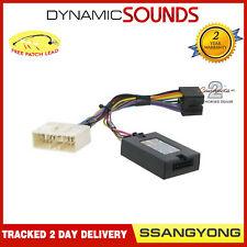 CTSSY005.2 Controles Del Volante Adaptador para Ssangyong Rexton 2013-2016