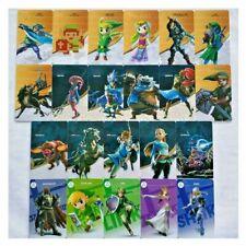 24Pcs Legends of Zelda BOTW Leather Game Card Full Set Ninetendo Switch