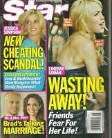 LINDSAY LOHAN WASTING AWAY Star Magazine June 27 2005 JESSICA SIMPSON