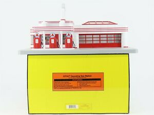 O Gauge MTH Rail King 30-9113 CITGO Operating Gas Station