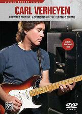 CARL VERHEYEN - FORWARD MOTION ELECTRIC GUITAR NEW DVD