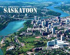 Canada - SASKATOON - Flexible Travel Souvenir Fridge Magnet