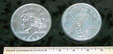 "REPLICA 1922 Peace Silver Dollar BIG HUGE GIANT 3"" COIN REPLICA paperweight, etc"