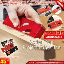 Woodworking Planer Edge Corner Plane Manual Planer Chamfer Mini Hand Tool