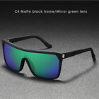 KDEAM Unisex Large Frame Polarized Sunglasses Outdoor Riding Glasses Goggles