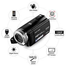 """3.0"""" 1080P Full HD Camera Camcorder DVR Video Recorder CMOS Sensor Night Vision"""