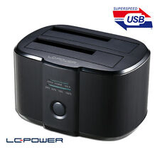 LC-Power - HDD Docking Station LC-DOCK-U3-II - Kopierfunktion - Aluminium