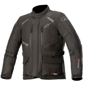 Alpinestars Andes V3 Mens Drystar Motorcycle Jacket Black