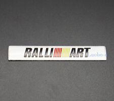 Aluminum Car Auto Parts Decals Emblem Sticker Badge Ralliart Logo For Mitsubishi