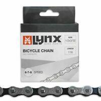 Fahrrad E-Bike Schaltungskette Kette 8 Fach 1/2x3/32 Zoll auch 6+7F Shimano SRAM