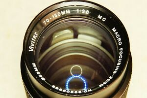 70-150mm f3.8 zoom lens for your SONY NEX or ALPHA E mirrorless camera   Vivitar