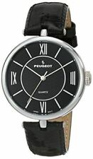Peugeot Women's 3033bk Analog Display Japanese Quartz Black Watch