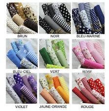 Coupon de Tissu patchwork 100% Coton 50x50 cm 9 Tons  différent lot de 7 pièces