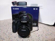 Canon PowerShot SX60 HS 16.1MP Digital Camera - Black WIFI + EXTRA
