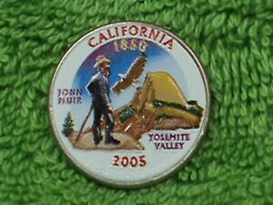 UNITED  STATES   25 Cents   2005  P   COLORIZED   CALIFORNIA    .