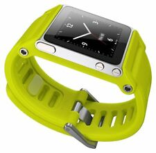 LunaTik TikTok Watch Wrist Strap for iPod Nano 6G - Yellow New