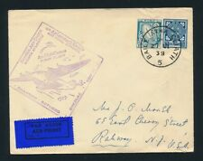 Ireland. 1939. Airmail cover. 1st flight to US