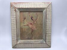 "Vintage Mid-Century Fried Pal Ballerina Litho Print - Frame 7""x 8"""