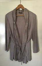 WOMENS JACQUI-E  TAUPE  VISCOSE/ELASTANE/SILK TOP SIZE XL