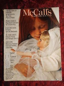 MCCALL's Magazine June 1969 Jun 69 WOODY ALLEN BARBARA ROBINSON