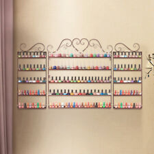 Big Metal Nail Polish Display Organizer Wall Hang Rack Holder Over 200 Bottles