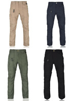 Brand New Tactical Cargo Pants Konvoy Slim Fit Rip-Stop Black Navy Beige Green