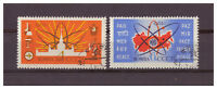 Sowjetunion, Atome für den Frieden MiNr. 2638 - 2639, 1962 used