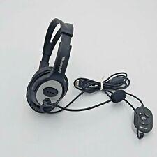 Microsoft LifeChat LX-3000 USB Head Set - Earphones and Microphone