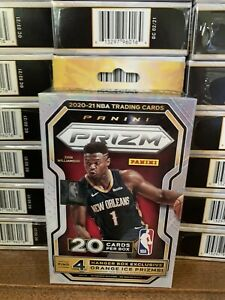 2020-21 NBA Panini Prizm Hanger Box Sealed