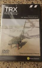 TRX Force Training (DVD) companion to Military Fitness Program straps exercise