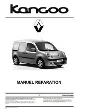 Manuel Atelier Entretien Réparation Renault Kangoo 2 - Fr