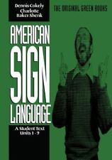 American Sign Language Green Books, A Student's Text Units 1-9 (Green Book Ser..