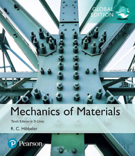 NEW - FAST to AUS - Mechanics of Materials by Hibbeler (10 Ed in SI Units)