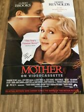 """MOTHERS"" MOVIE POSTER SIGNED BY DEBBIE REYNOLDS (DIED 2016)"