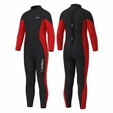 New listing Hevto Wetsuits Kids and Youth 3mm Neoprene Long Sleeve Surfing Swimming Full ...