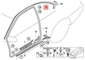 Genuine BMW M3 E46 316Ci 318Ci 320Cd Finisher Side Frame Right 51717003936