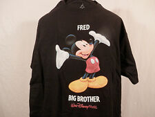 Disney Mickey Mouse Big Brother T shirt short sleeve  name on shirt FRED size M