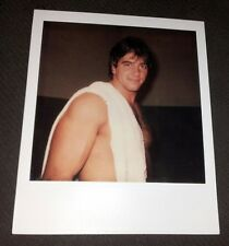 Autographed Rick Martel Polaroid Photo 1982 Chicago Debut AWA/WWE/WWF/WCW/TNA